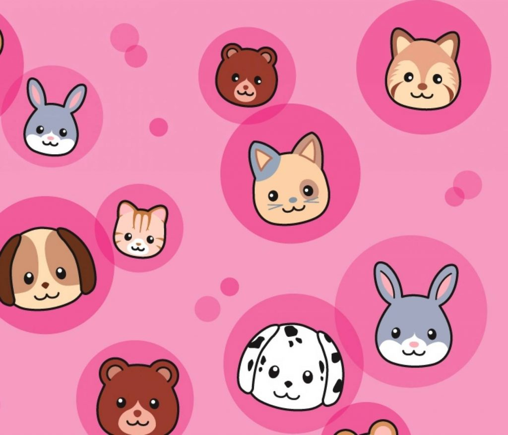 Wallpaper Background Abstract-Animals-Background-Cute