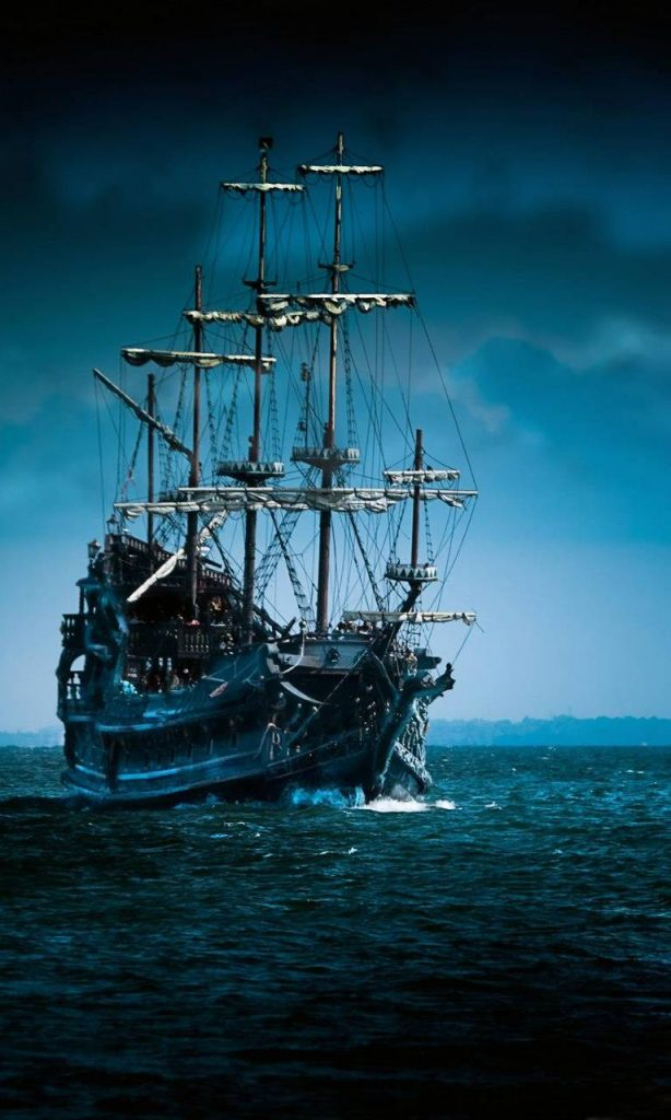 Abstract-Movies-Nature-Pirate-in-night-Wallpaper Background