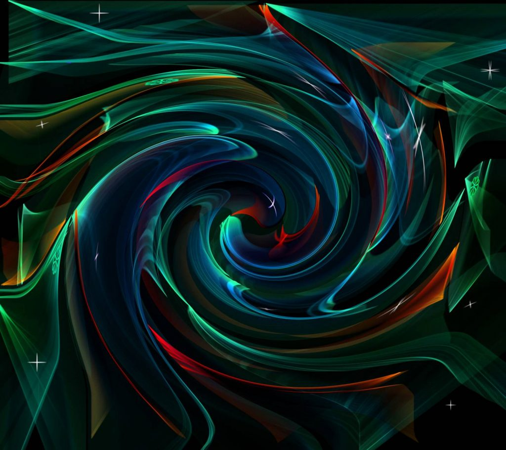 Abstract-String-Twirl Wallpaper Background