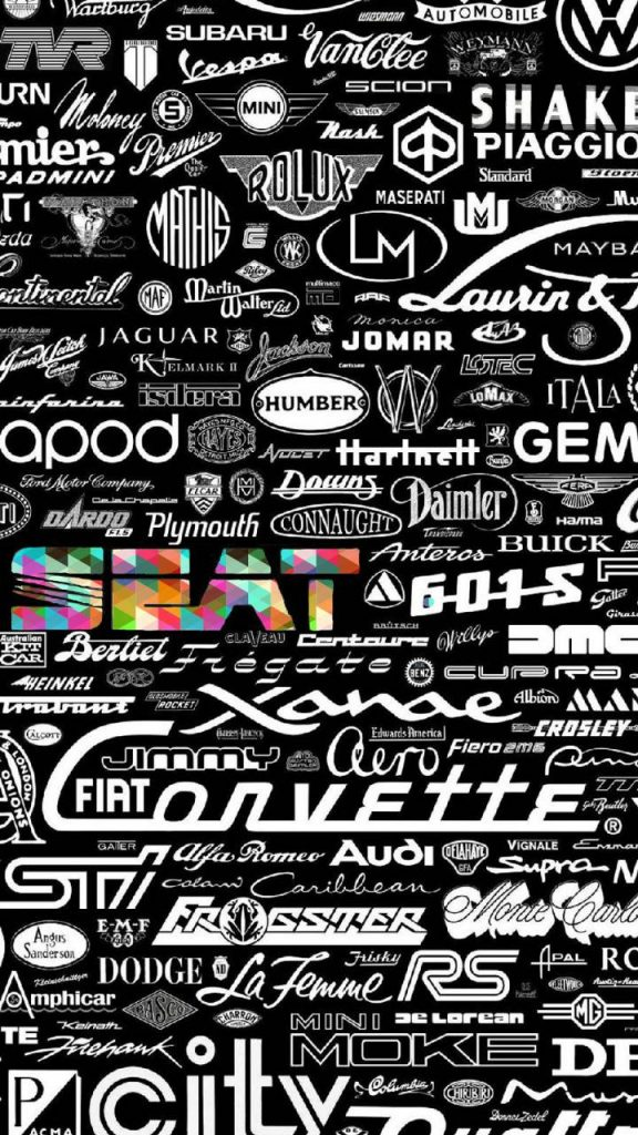 Brand-Cars-Logos-Names Wallpaper Background
