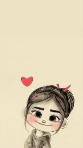 Cartoon Drawing Feeling Heat Love Wallpaper Background
