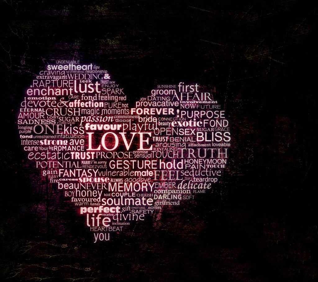 Designer-Heart-Hd-Love-Love-Heart-Love-Text Wallpaper Background