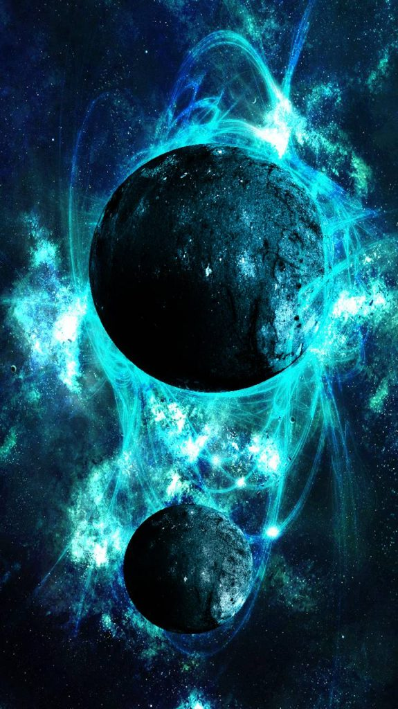 Galaxy-Planet-Sky-Space-Star-Stars Wallpaper Background
