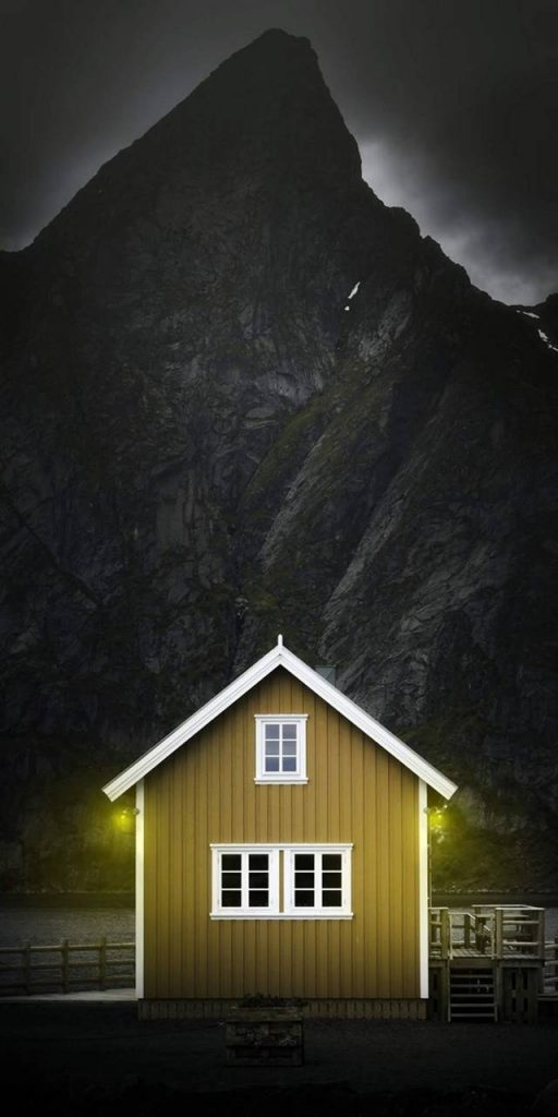 Home-Camping Wallpaper Background