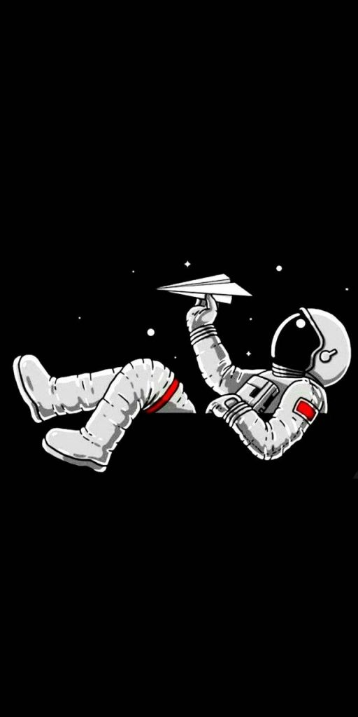 Man-Space- Wallpaper Background