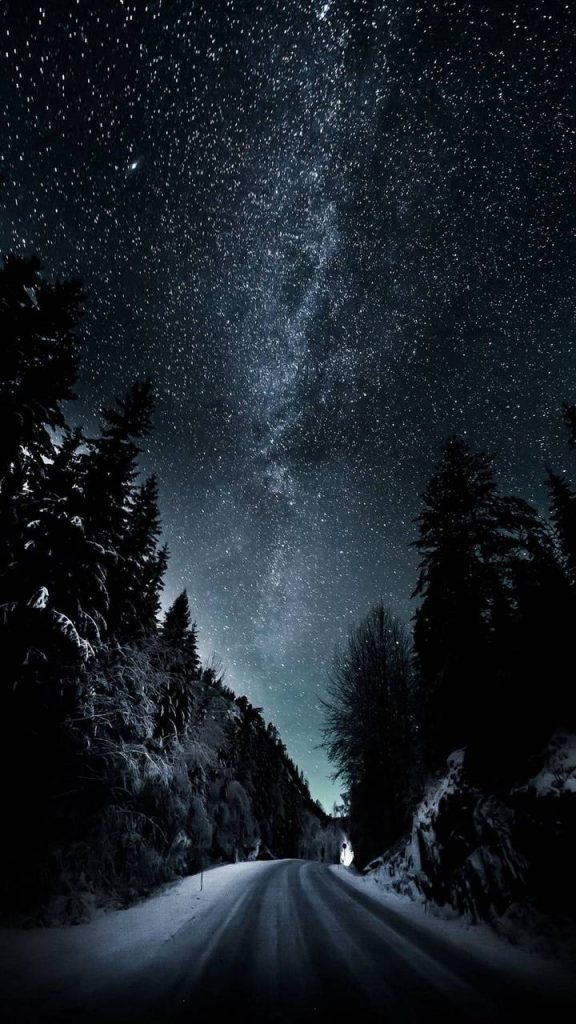 Night-Roads-Space-Universe- Wallpaper Background