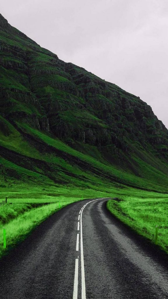 Road Nature Wallpaper Background